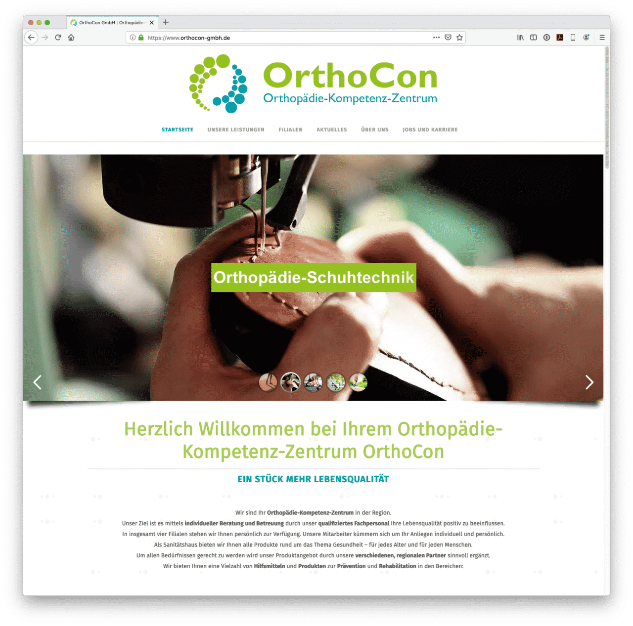 Orthocon GmbH - Homepage
